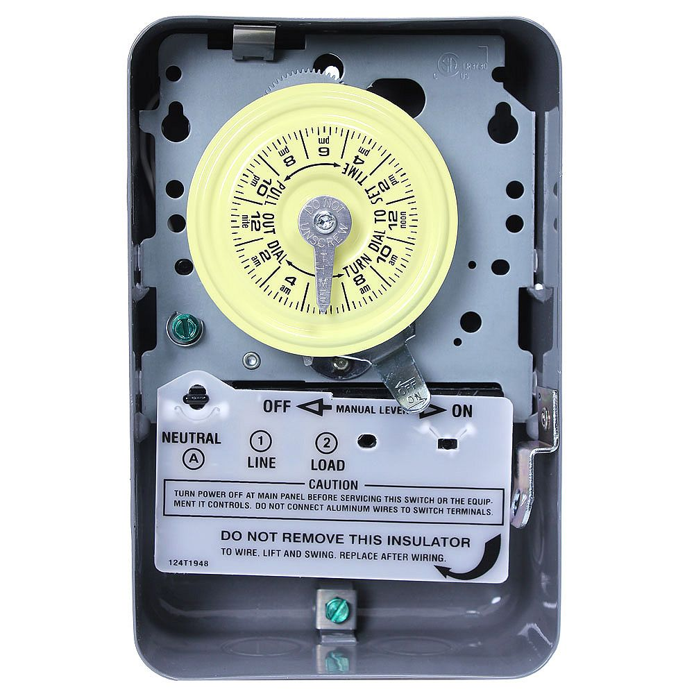 Intermatic Minuterie - Bipolaire - 125 volts