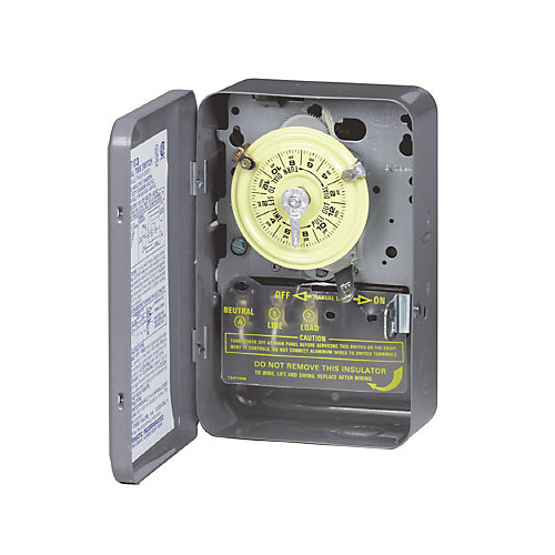 Time Switch - DPST - 125 Volts