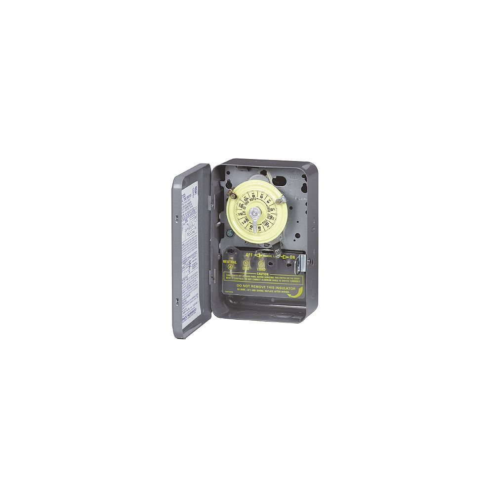 Intermatic Time Switch Dpst 125 Volts The Home Depot Canada