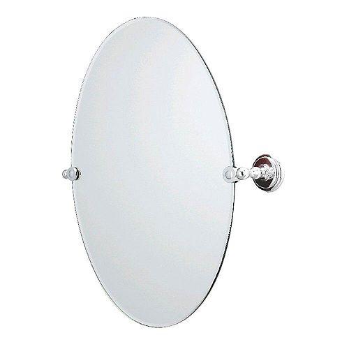 Miroir ovale sans encadrement