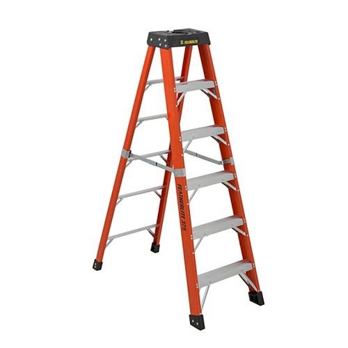 Featherlite fibreglass Step Ladder