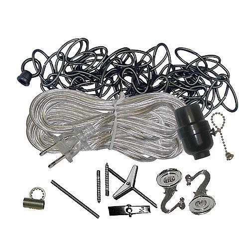 Ensemble de crochet de suspension de chrome