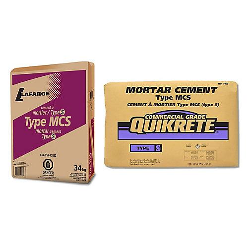 MCS Cement Mortar Type S 34kg
