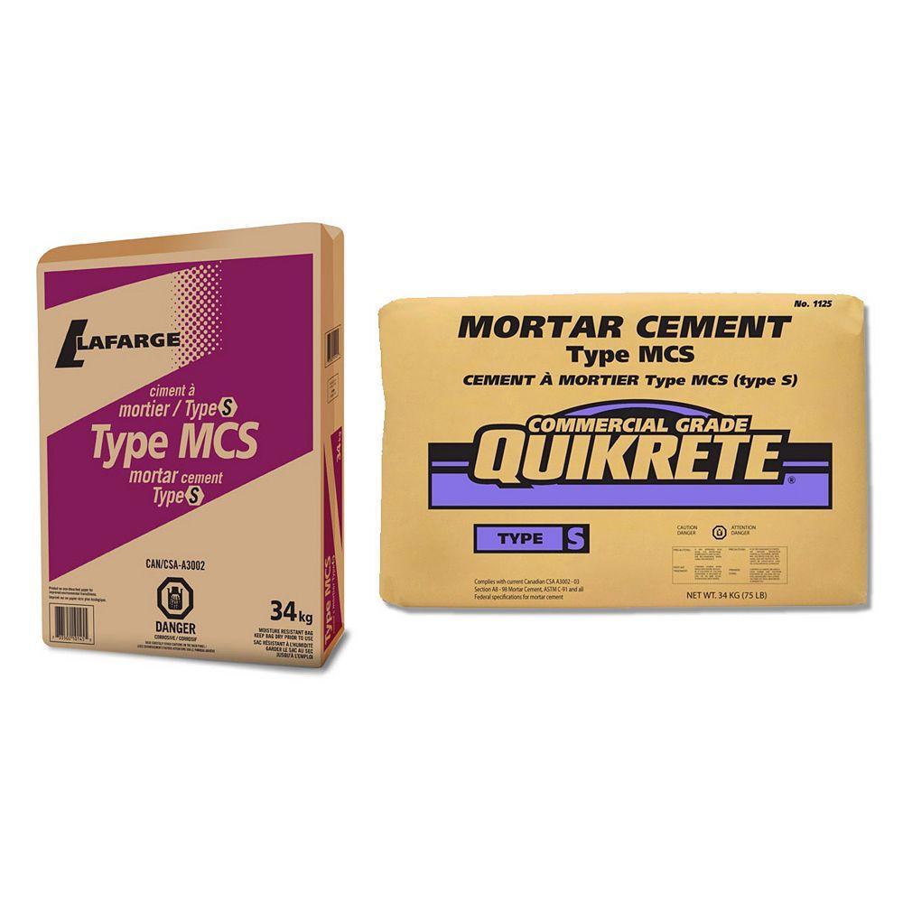 Quikrete MCS Cement Mortar Type S 34kg