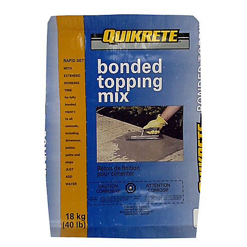 Bonded Topping Mix 18kg Bag