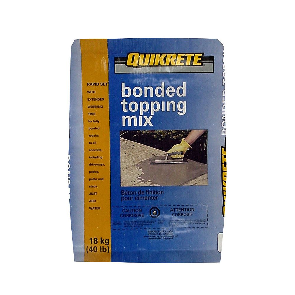 Quikrete Bonded Topping Mix 18kg Bag
