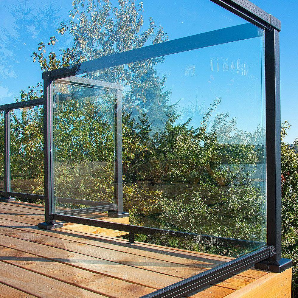 RailBlazers 66-inch Tempered Glass Railing Panel