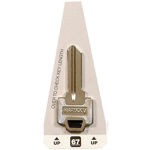 #67 Axxess Key - Masterlock Padlock Key