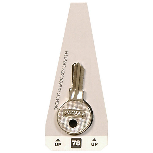#78 Axxess Key - Yale Small Lock Key
