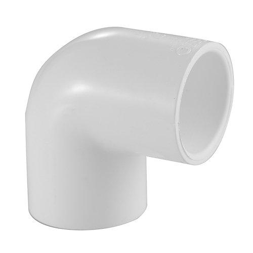 Coude de 90 degrés en PVC Schedule 40, 1/2 po
