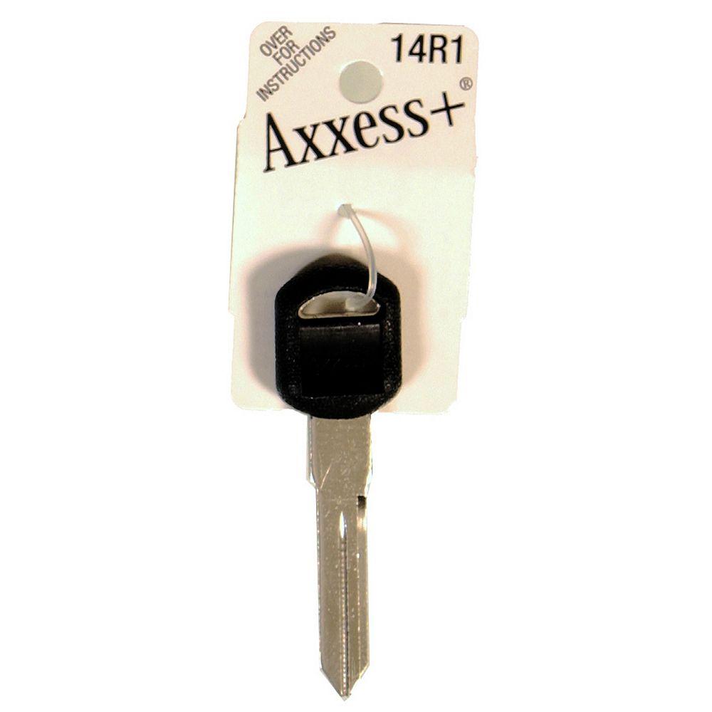 The Hillman Group #14R1 Rubberhead Axxess Key