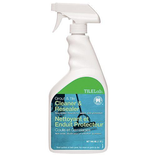 Nettoyant et imperméabilisant TileLab OneStep – 0,95 l