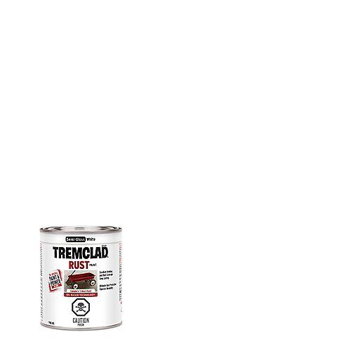 TREMCLAD Peinture Antirouille À Base D'Huile En Blanc Semi-Lustré - 946 mL