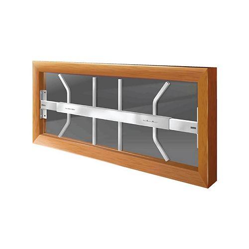 201 B 29-inch to 42-inch W Fixed Window Bar