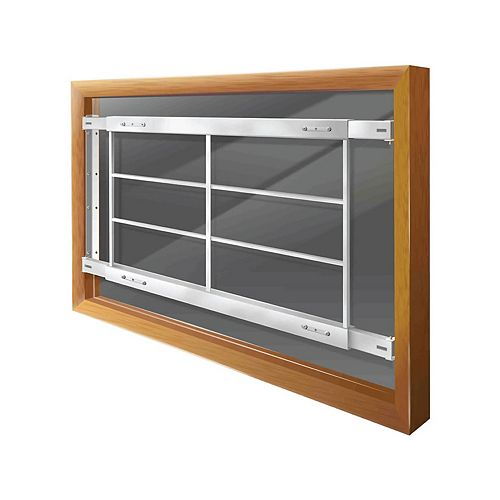 201 D 42-inch to 54-inch W Fixed Window Bar