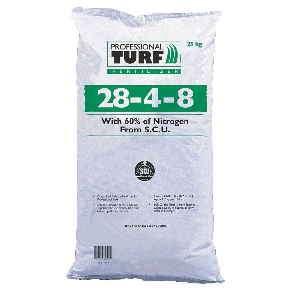 Pro-Turf Professional Turf Fertilizer, 28-4-8- 25kg