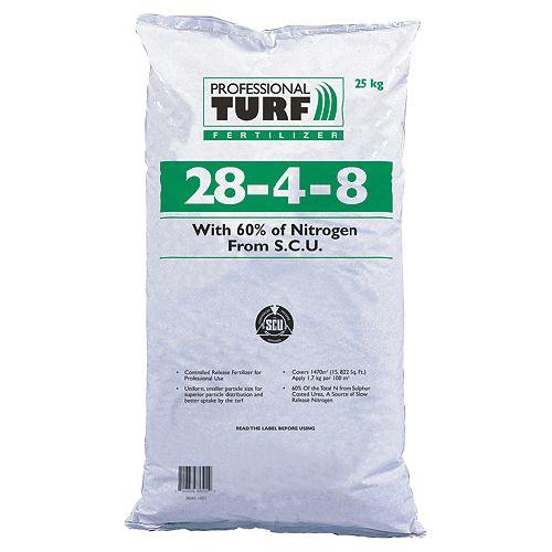 Professional Turf Fertilizer, 28-4-8- 25kg