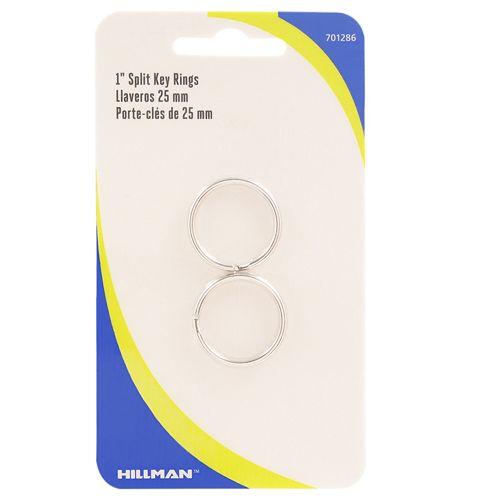 1 Inch Split Key Rings