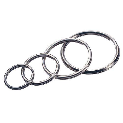 Assorted Split Key Ring Set