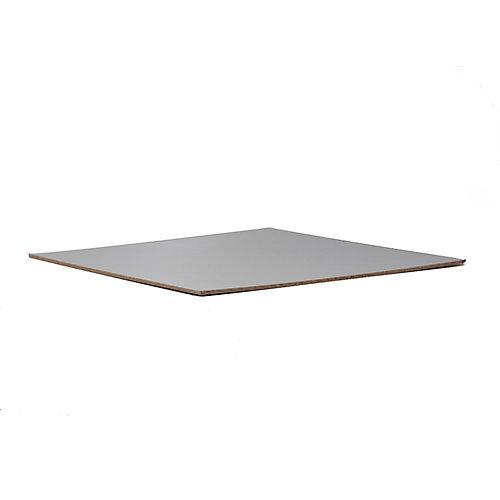 Panneaux de bois dur blanc 1/8 x 4 x 8