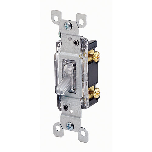 Single Pole Lighted Toggle Switch