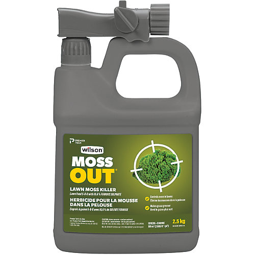 MossOut Moss Killer with Lawn Food 5-0-0