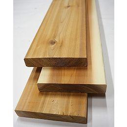 Planche de terrasse, 5/4 x 6 x 10 pi, cèdre de première qualité