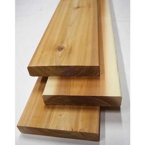 5/4-inch x 6-inch x 10 ft. Premium Cedar Deck Board