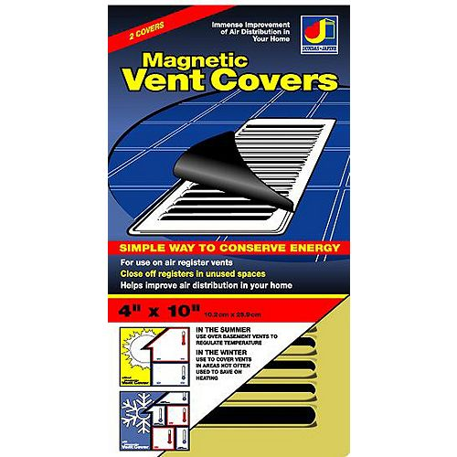 Dundas Jafine Magnetic Vent Cover Bronze 4 inchX10 inch