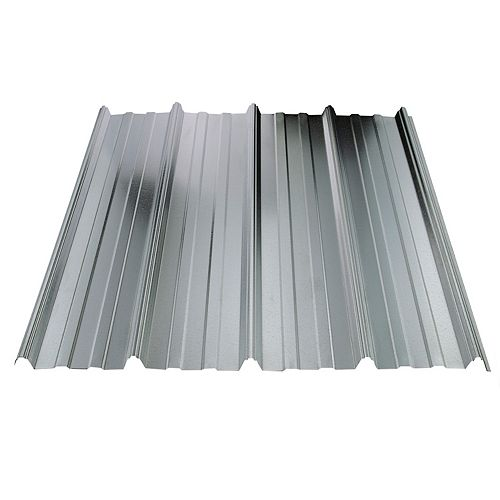 UltraVic 10 Feet Galvanized Metal Roof Sheet 29 Ga