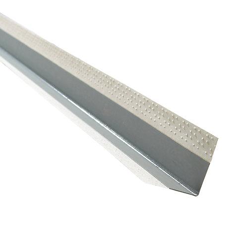 CGC Paper-Faced Metal Outside Corner Bead, B1W 11/16 Inch x 11/16 Inch Even Leg, 8 Feet