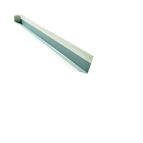 CGC Paper-Faced Metal Outside Corner Bead, B1W 11/16 Inch x 11/16 Inch Even Leg, 10 Feet