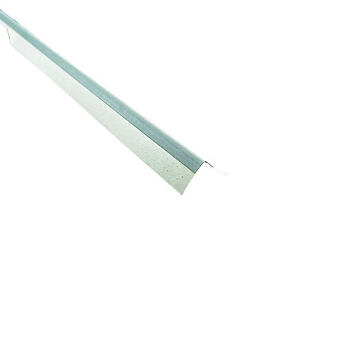 CGC Paper-Faced Metal Inside Corner Bead, B2 3/8 In. x 3/8 In. 90 degree, 8 Ft.