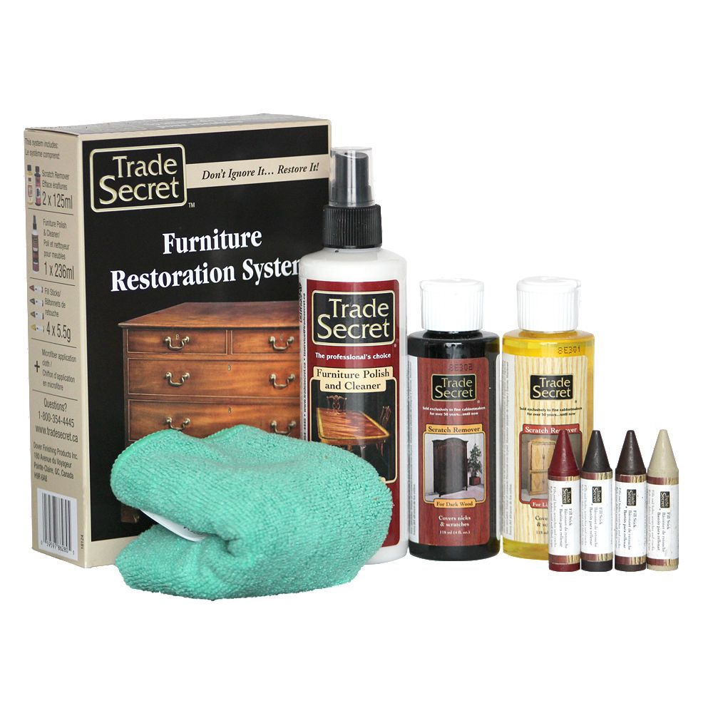 Trade Secret Furniture Restoration System (S)