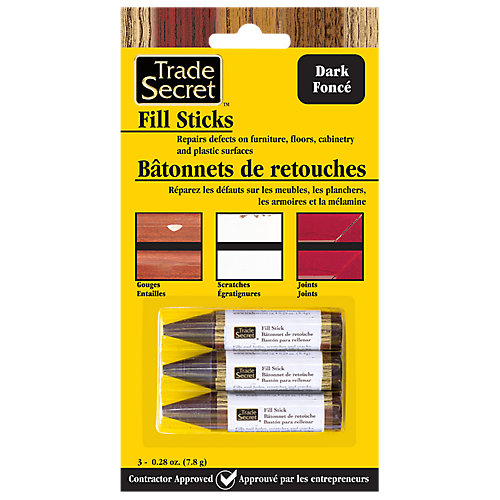 Fill Stick - Dark - (Set of 3) (S)