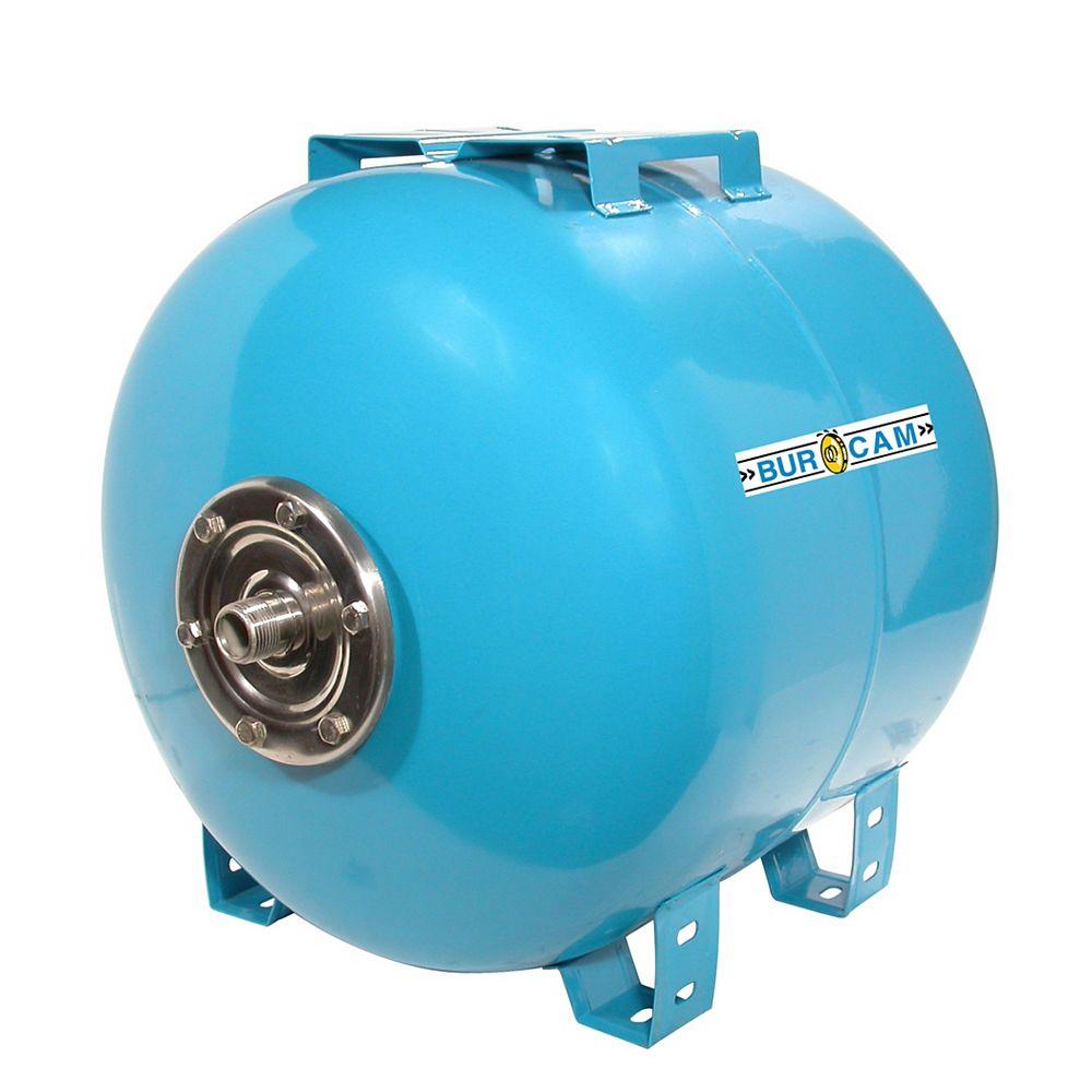 Bur-Cam Réservoir à air captif horizontal de 60 litres (15.8 USGAL)