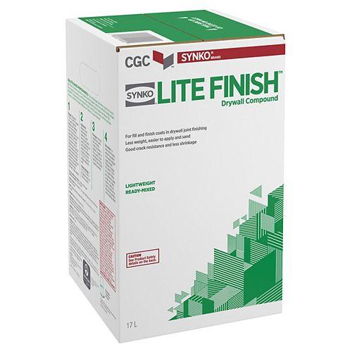 Lite Finish Drywall Compound, 17 L carton
