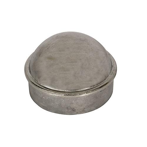 Capuchon de poteau principal pour clôture de maille de chaînes 1-7/8 pouce - Galvanisé