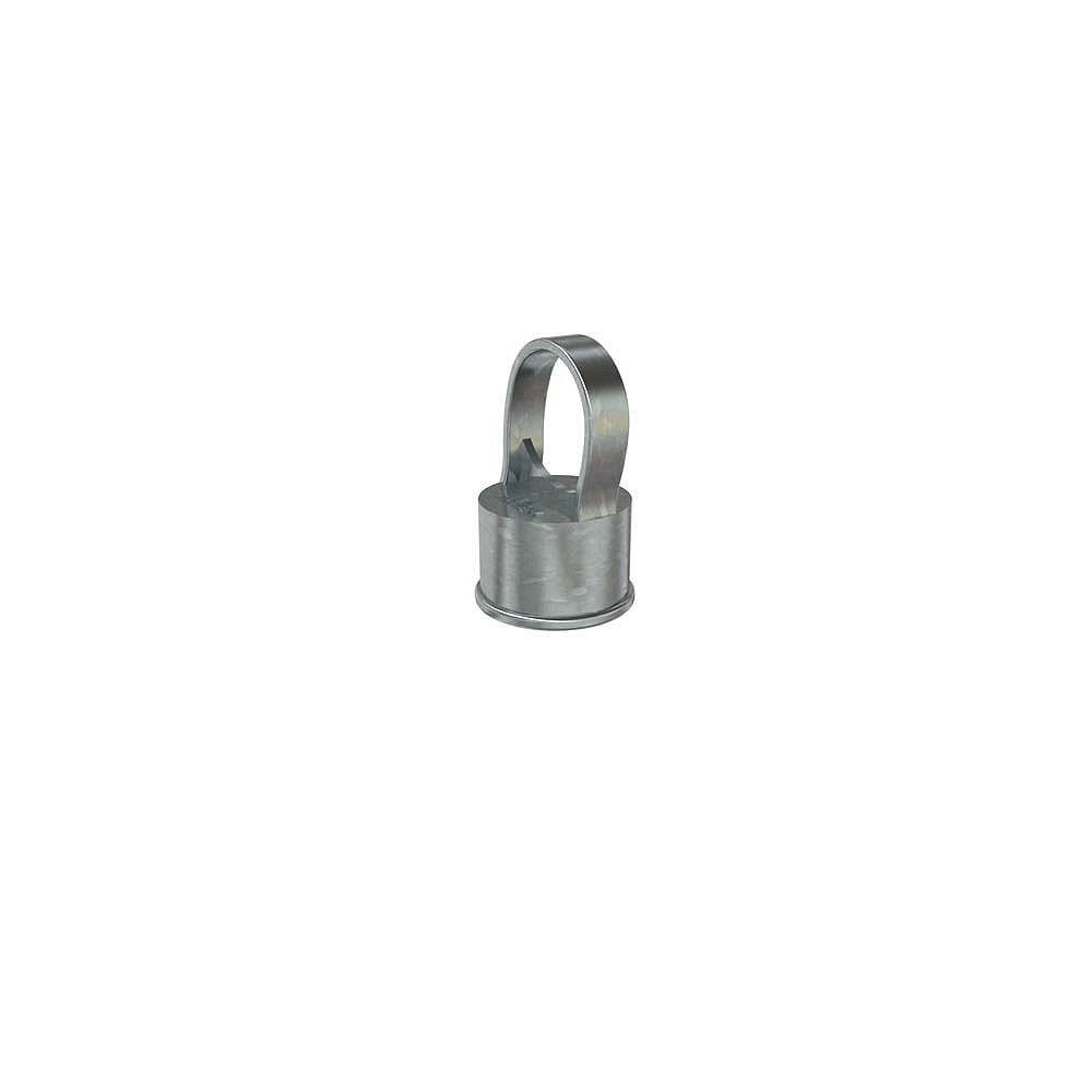Peak Products 1 1/2-inch x 1 1/4-inch Chain Link Fencing Line Post Cap in Galvanized Aluminum