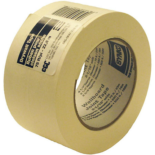 CGC Paper Drywall Tape, 2-1/16 in x 75 Ft. Roll
