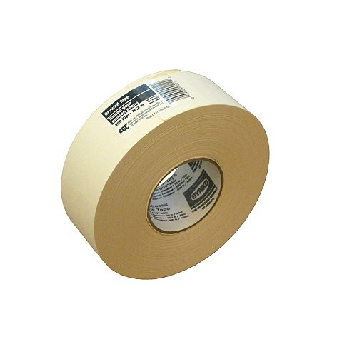CGC Paper Drywall Tape, 2-1/16 in x 250 Ft. Roll