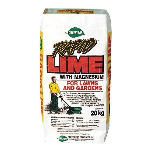Rapid<sup>®</sup> Lime avec magnésium pour pelouses et jardins