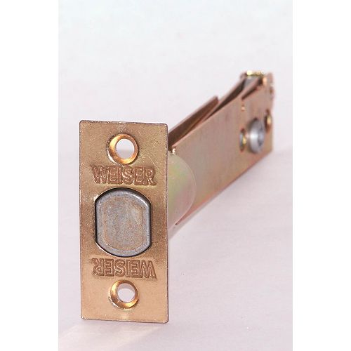 5 Inch Adjustable Deadbolt Latch In Brass