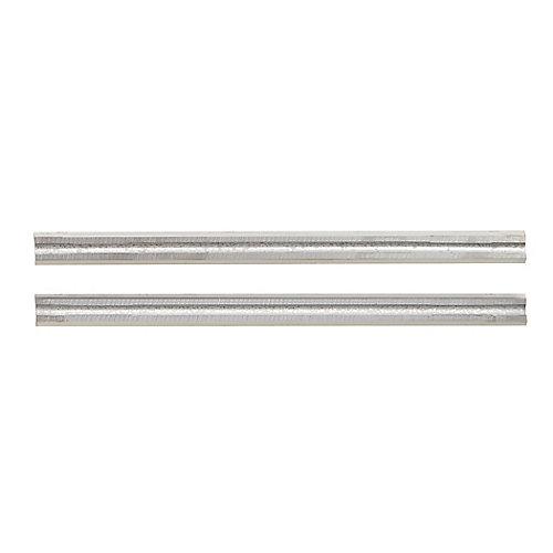 Woodrazor Micrograin Carbide Planer Blades - (2-Pack)