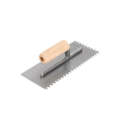 Truelle de plancher à dentelure carrée 1/4 po, proSeries