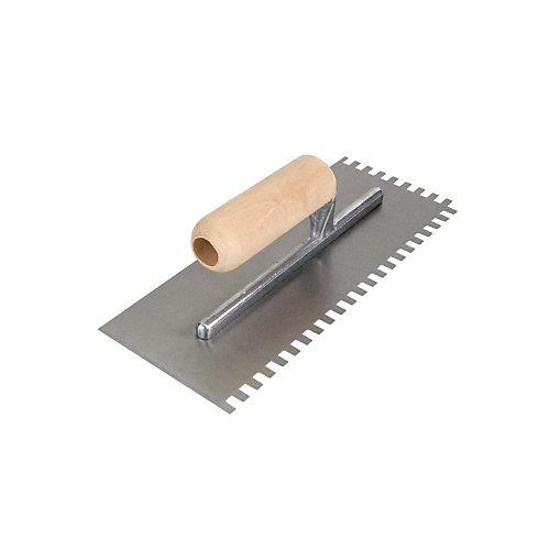 Truelle à plancher à dentelure carrée 1/4 po x 3/8 po x 1/4 po, ProSeries