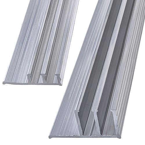Paulin 1/2 x 48-inch Aluminum Track Set