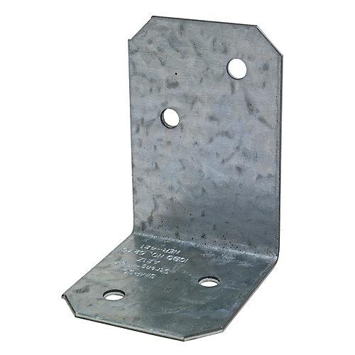 2 inch x 1-1/2 inch x 1-3/8 inch ZMAX Galvanized Angle