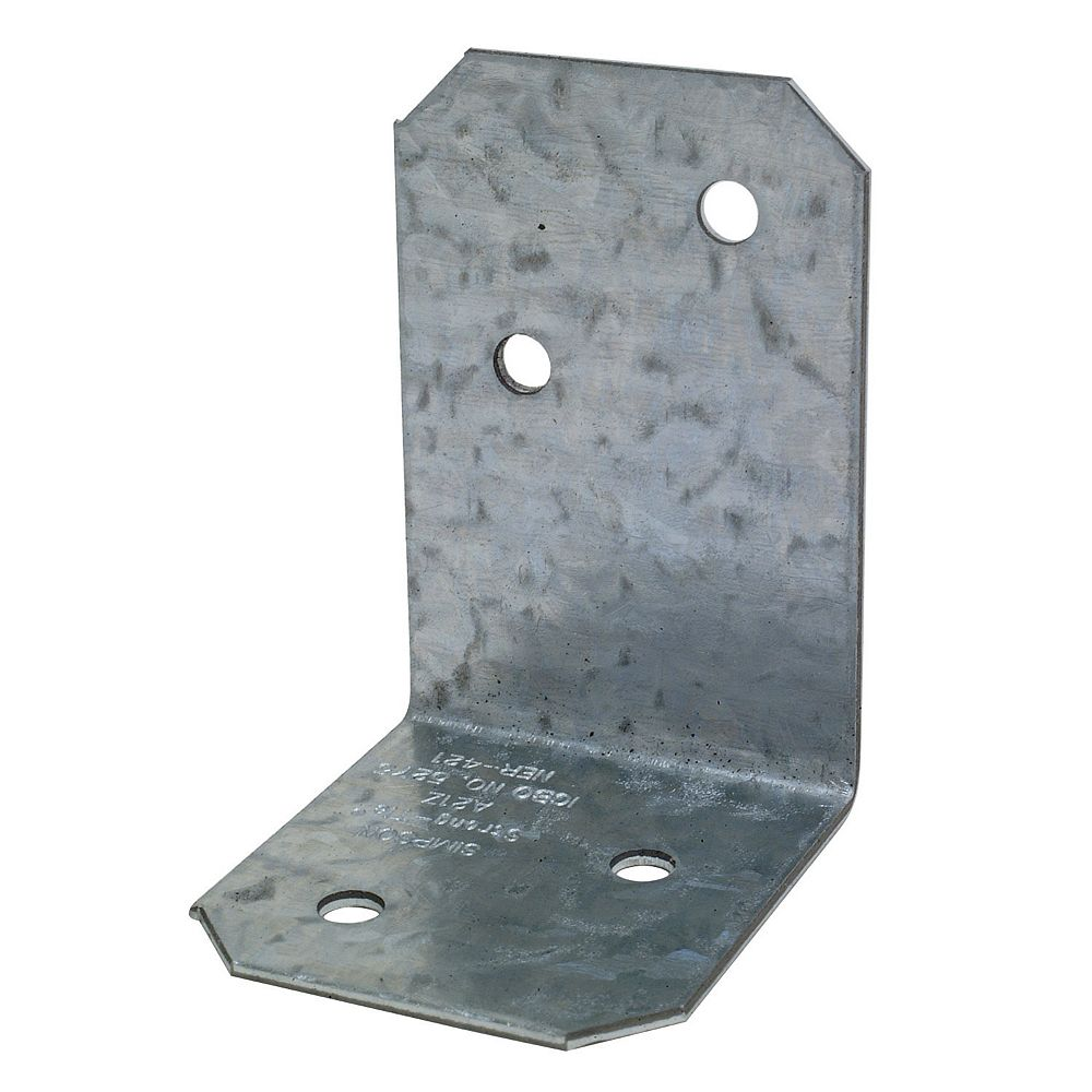 Simpson Strong-Tie 2 inch x 1-1/2 inch x 1-3/8 inch ZMAX Galvanized Angle