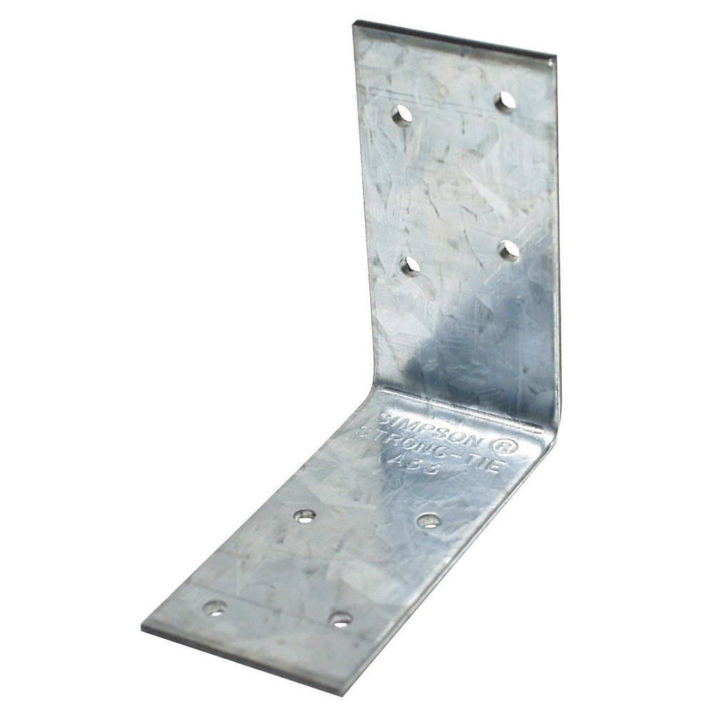Simpson Strong-Tie 3 inch x 3 inch x 1-1/2 inch Galvanized Angle